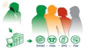 Inscrivez-vous : Vos numéros d'appel pour le service d'alerte
